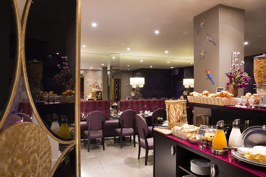 hotel mondial paris salle petit d jeuner g galerie h tel mondial paris. Black Bedroom Furniture Sets. Home Design Ideas