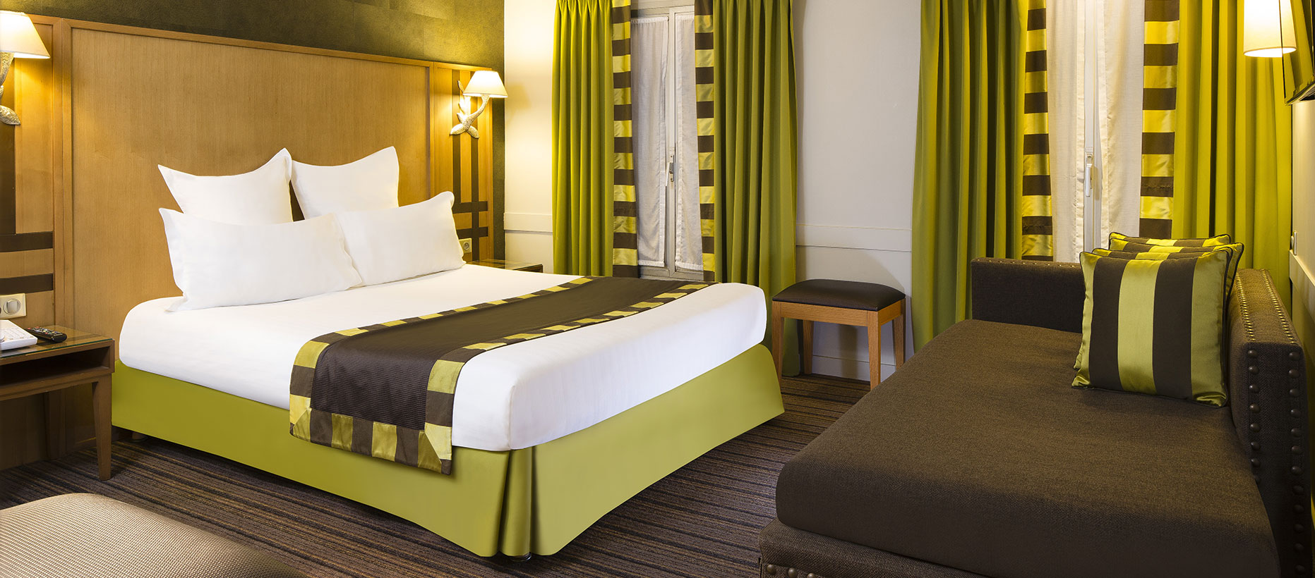 hotel mondial paris h tel mondial paris op ra. Black Bedroom Furniture Sets. Home Design Ideas