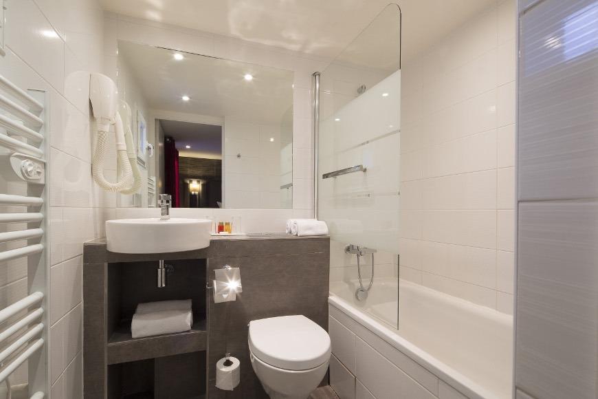 Hotel Mondial Paris - Salle de bain G Galerie - Hôtel ...