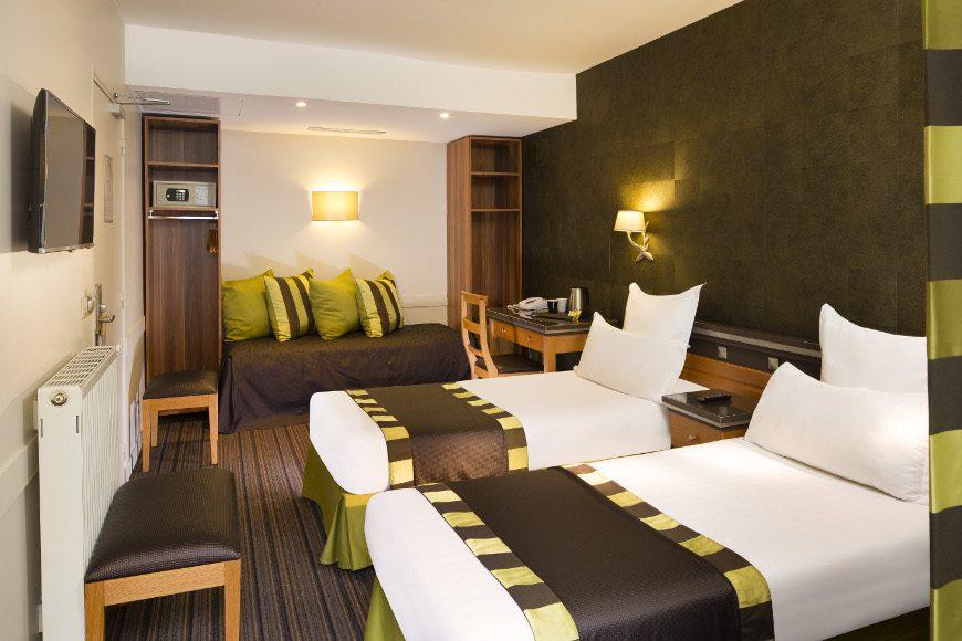 2 Chambres adjacentes - Hôtel Mondial Paris Opéra - Meilleur ...