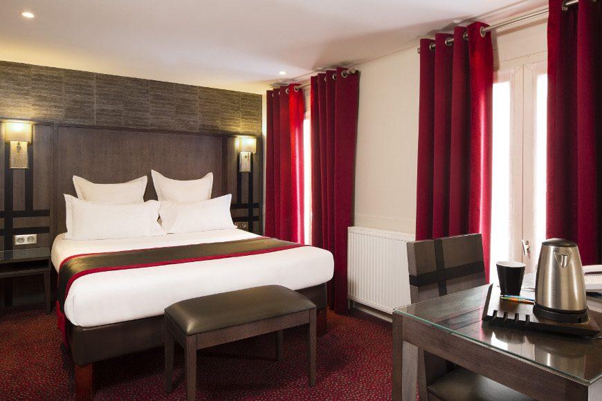 Chambre Double Balcon Hotel Mondial Paris Meilleur Tarif Garanti