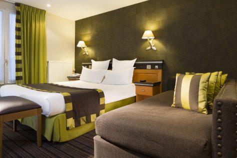 Hotel Mondial Paris - Chambre Triple Double 211 G