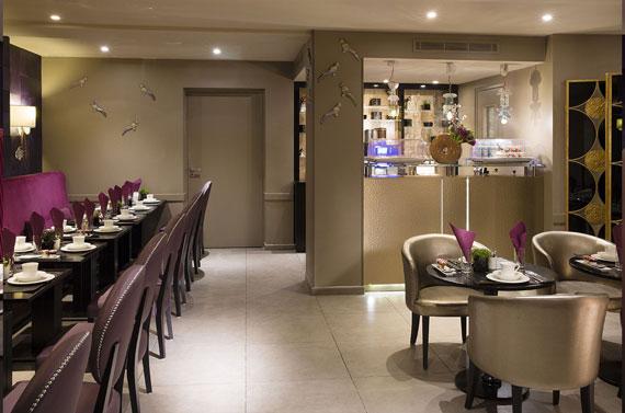 Hotel Mondial Paris - Petit déjeuner Salle