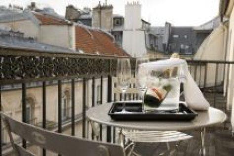 Hotel Mondial Paris - Chambre Double Balcon - Balcon G2